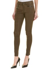 AG Adriano Goldschmied Ag Jeans The Farrah Skinny Moto Dwi Leather High-Rise Skinny Leg