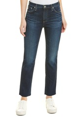 AG Adriano Goldschmied Ag Jeans The Isabelle 9 Years Amendment High-Rise Straight Crop