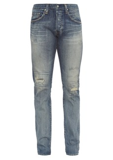 AG Adriano Goldschmied AG Jeans The Matchbox mid-rise relaxed-fit jeans