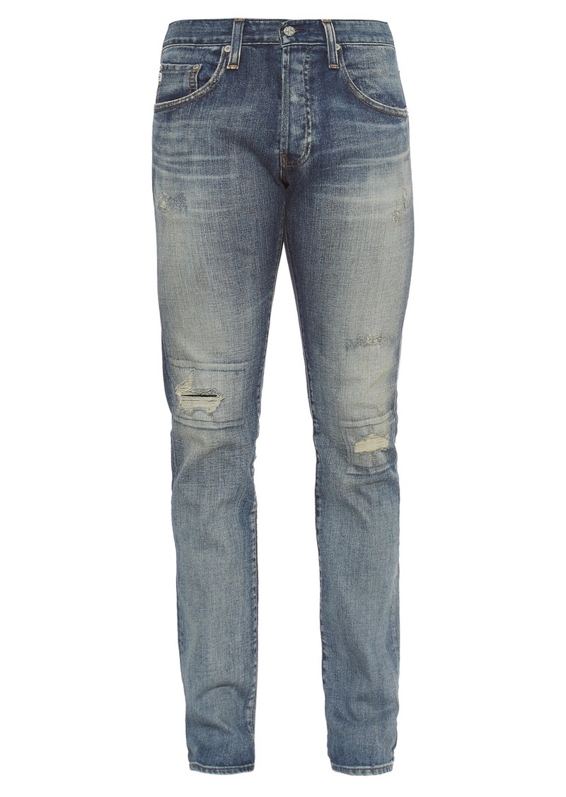 e62ddd39 AG Adriano Goldschmied AG Jeans The Matchbox mid-rise relaxed-fit jeans