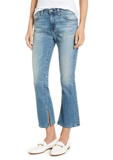 AG Adriano Goldschmied AG Jodi Crop Flare Jeans (16 Years Indigo Deluge)