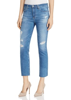 Ag Jodi Distressed Cropped Jeans