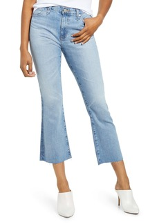 AG Adriano Goldschmied AG Jodi Flare Crop Jeans (19 Yrs Blue Accent)