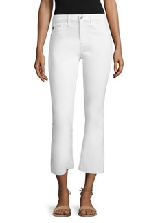 AG Adriano Goldschmied Jodi Cropped Flared Jeans