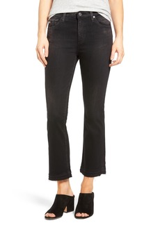 AG Jodi High Waist Slim Crop Flare Jeans (04 Years Burnished)