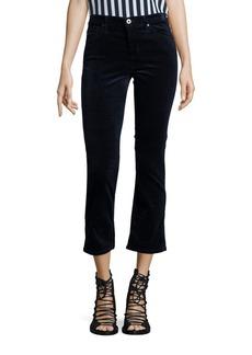 AG Adriano Goldschmied AG Jodi Velvet Cropped Flared Jeans