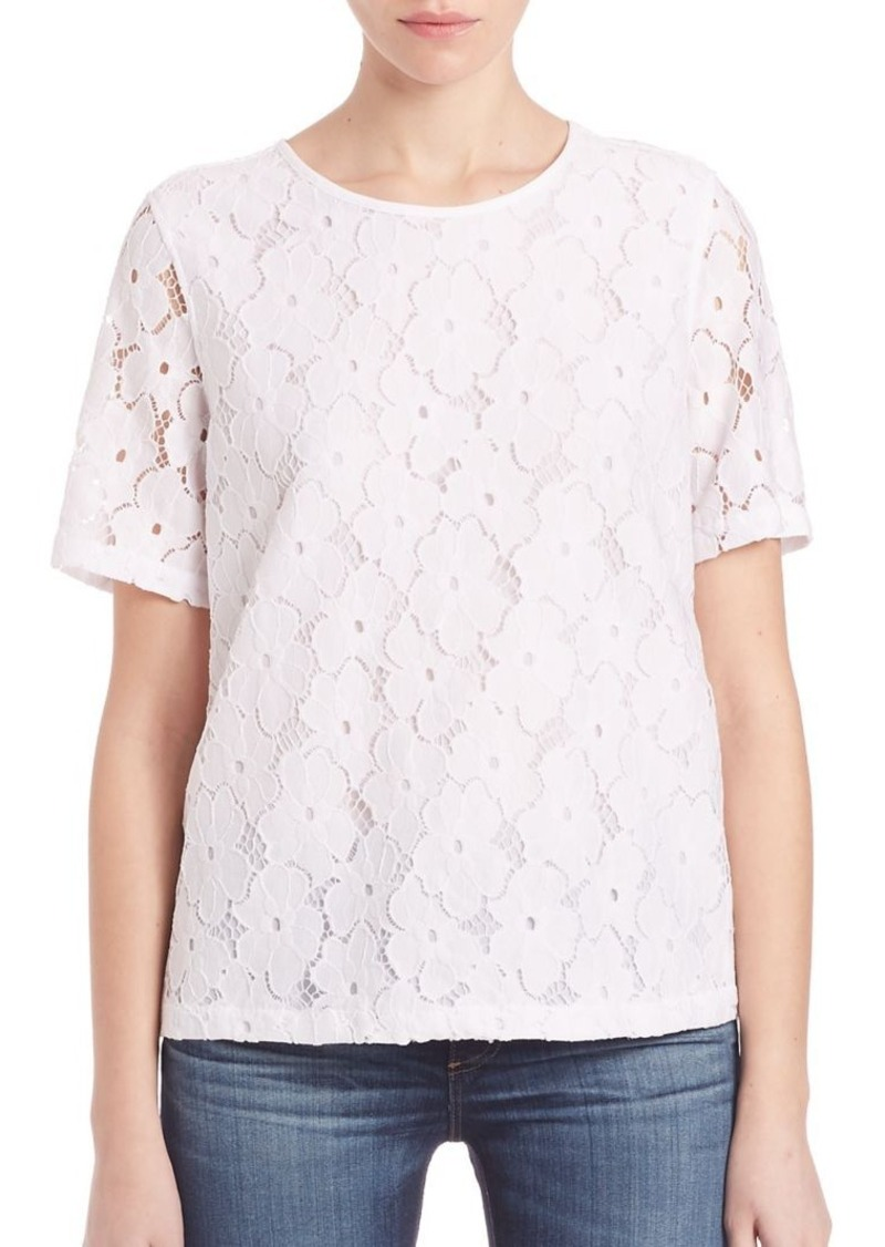 AG Adriano Goldschmied AG Jolie Lace Tee