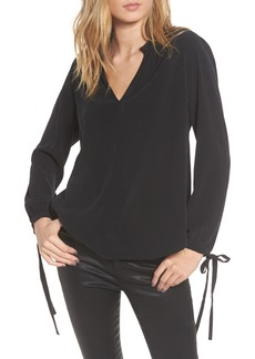 AG Adriano Goldschmied AG Karina Tie Cuff Blouse