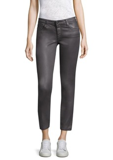 AG Adriano Goldschmied Coated Ankle Leggings