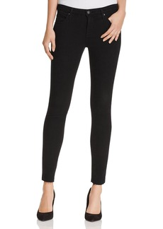 AG Legging Ankle Jeans in Black Ink