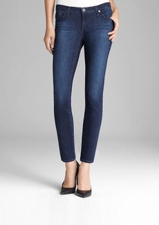 Ag Legging Ankle Jeans in Coal Grey