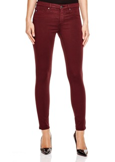AG Legging Ankle Jeans in Crimson Maple - 100% Bloomingdale's Exclusive