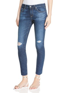 AG Legging Ankle Jeans in Never Ending Destroyed