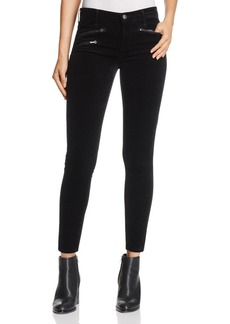 AG Legging Ankle Velvet Jeans in Super Black