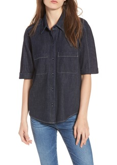 AG Adriano Goldschmied AG Lonnie Front Button Shirt