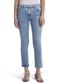 AG Adriano Goldschmied AG Mari Crop Slim Straight Jeans (Presence)