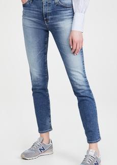 AG Adriano Goldschmied AG Mari High Rise Slim Straight Jeans
