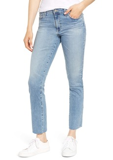 AG Adriano Goldschmied AG Mari High Waist Ankle Slim Straight Leg Jeans (24 Years Stark)