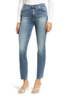 AG Adriano Goldschmied AG Mari High Waist Ankle Slim Straight Leg Jeans