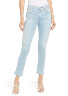 AG Adriano Goldschmied AG Mari High Waist Crop Jeans (27 Years Concur Destructed)