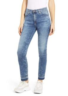 AG Adriano Goldschmied AG Mari High Waist Skinny Release Hem Jeans (18 Years Apex)
