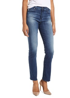 AG Adriano Goldschmied AG Mari High Waist Slim Straight Leg Jeans (12 Years Idiosyncratic)