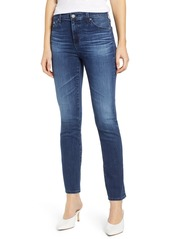 AG Adriano Goldschmied AG Mari High Waist Slim Straight Leg Jeans (5 Year Blue Essence)