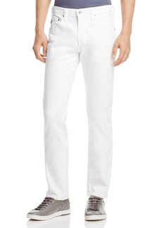AG Adriano Goldschmied AG Matchbox Slim Fit Jeans in White