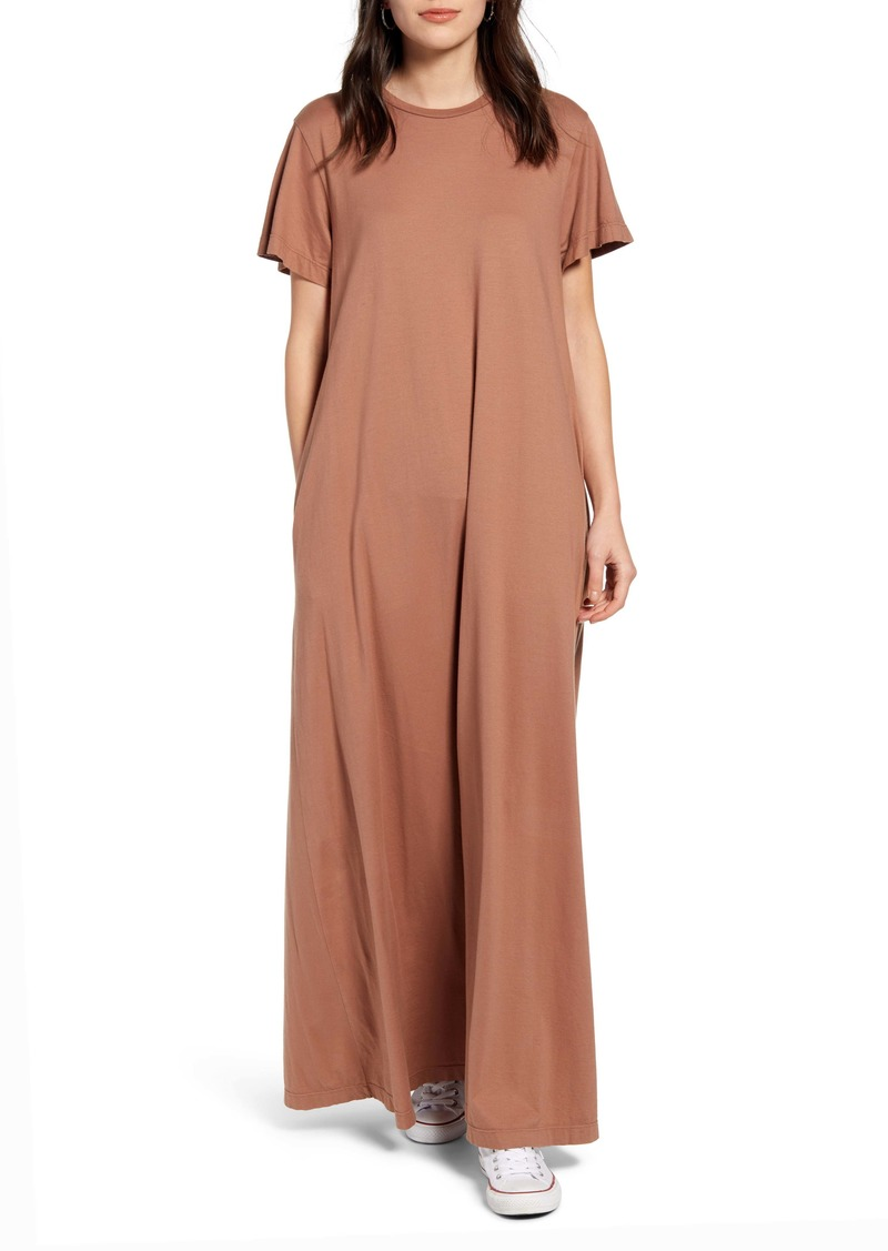 AG Adriano Goldschmied AG Micah Stretch Cotton Maxi T-Shirt Dress