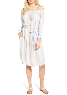 AG Adriano Goldschmied AG Michelle Off the Shoulder Cotton Dress