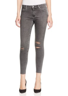 AG Middi Skinny Ankle Jeans in Alcove - 100% Exclusive