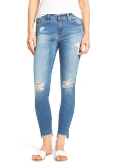AG Middi Step Hem Ankle Skinny Jeans (Iconic)