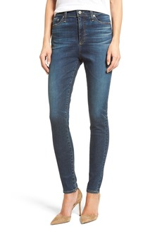 AG Mila High Rise Skinny Jeans (9 Years Renegade)