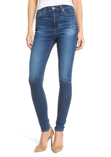 AG Mila High Waist Skinny Jeans (8 Years Blue Portrait)