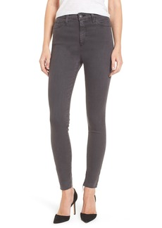 AG Mila Super High Rise Skinny Jeans (Interstellar Black)