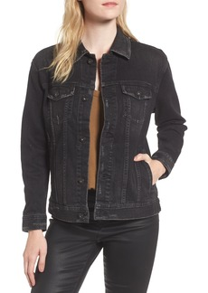AG Nancy Distressed Denim Jacket