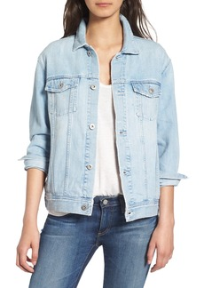 AG 'Nancy' Three Quarter Sleeve Denim Jacket