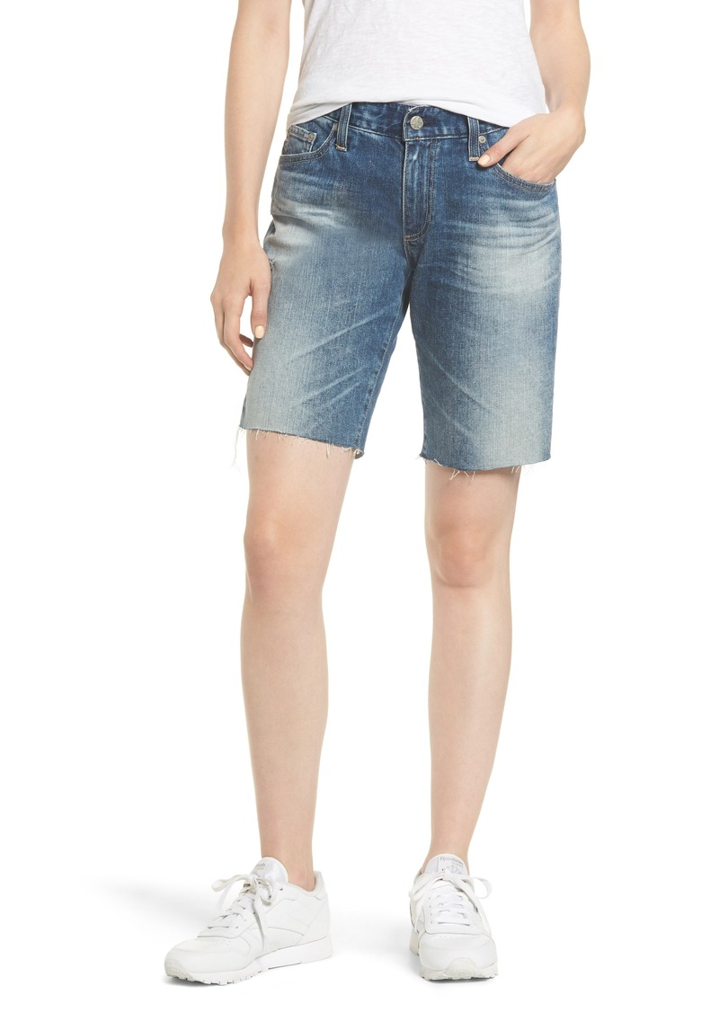 AG Adriano Goldschmied AG Nikki Cutoff Denim Shorts