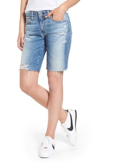 AG Nikki Cutoff Denim Shorts (16 Years Indigo Deluge)