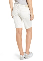 AG Adriano Goldschmied AG Nikki Denim Bermuda Shorts (1 Year Neutral White)