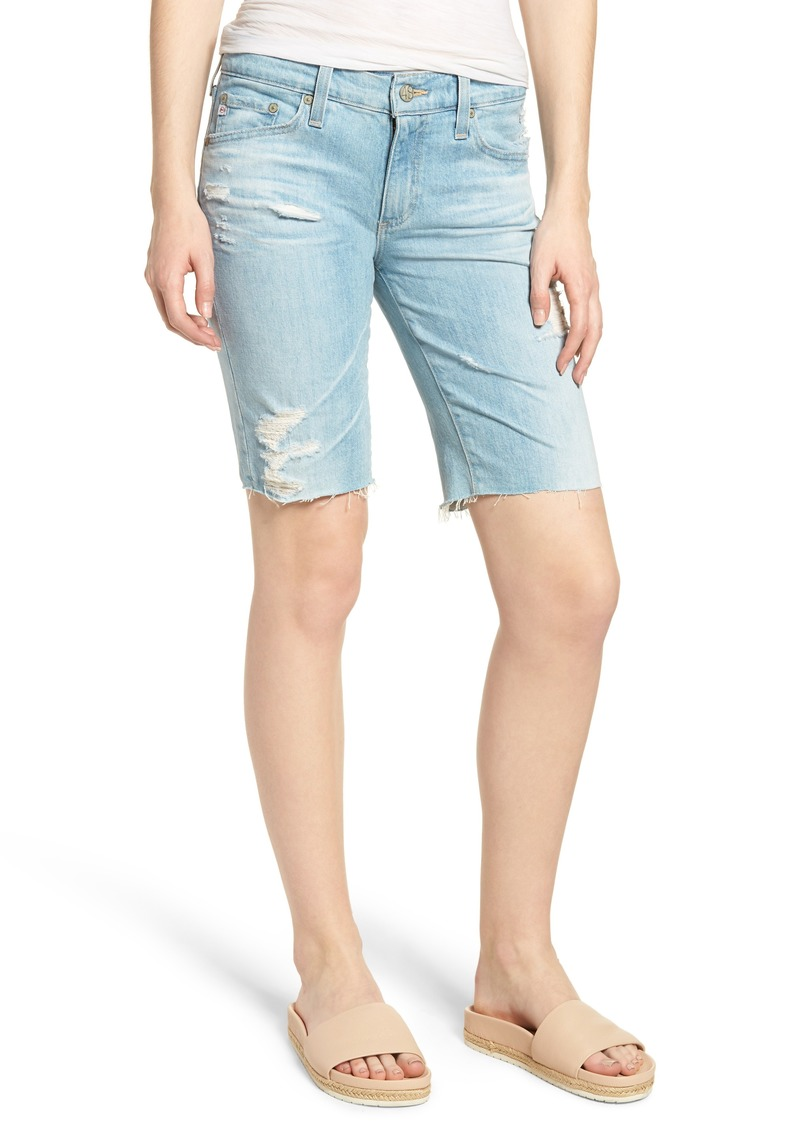 AG Adriano Goldschmied AG Nikki Denim Shorts (23 Years Cerulean Chase)