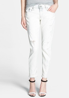 AG Adriano Goldschmied AG 'Nikki' Distressed Crop Jeans (22-Year Drifter)