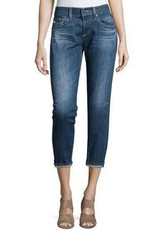 AG Nikki Slim Crop Jeans