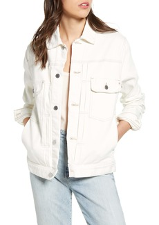 AG Adriano Goldschmied AG Omaha Denim Jacket (Modern White)