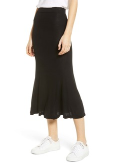 AG Adriano Goldschmied AG Peary Ribbed Midi Skirt