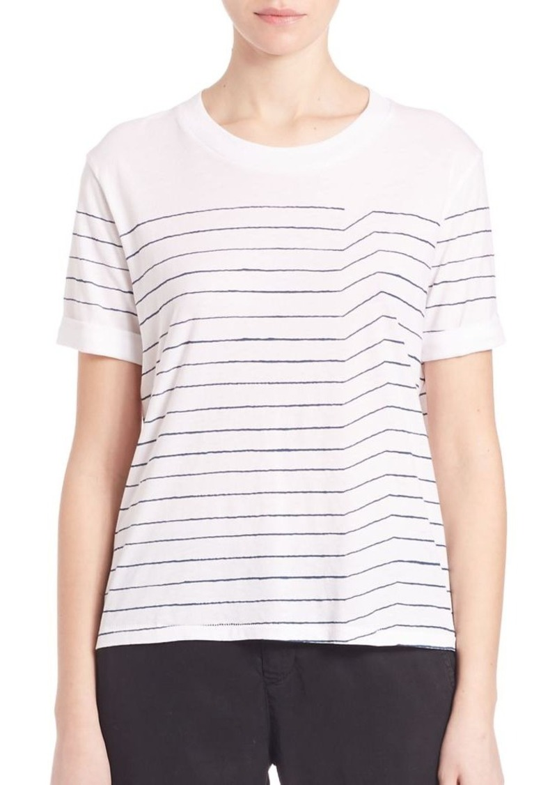 AG Adriano Goldschmied AG Pima Cotton Sonic Striped Tee