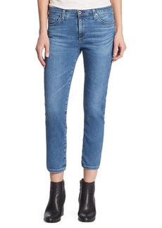 AG Prima Cigarette Cropped Medium Washed Jeans