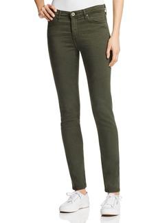 AG Prima Cigarette Jeans in Sulfer Dark Moss