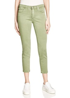 AG Prima Crop Jeans in Army Green