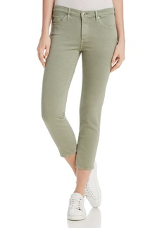 AG Prima Crop Skinny Jeans in Sulfur Dry Cypress - 100% Exclusive